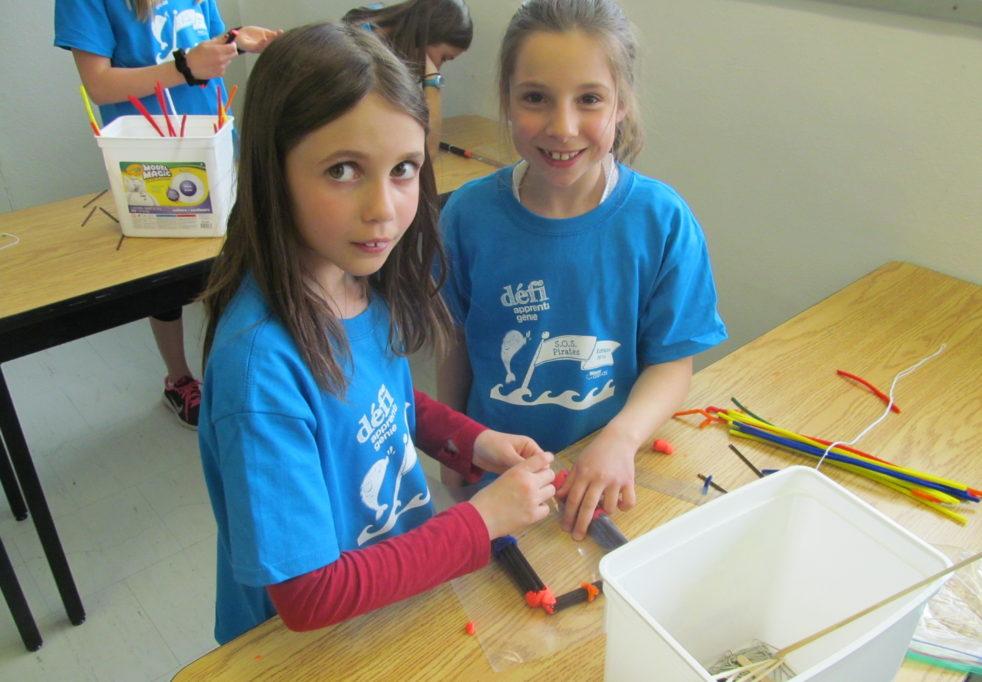 Des élèves participent au Défi apprenti génie 2017: «Propulse ton sucre!»